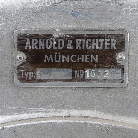 A german spotlight from arnold & richter first half of the 20th century.