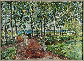 Karl Dahlqvist, oil on canvas, signed.