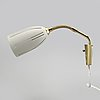 Wall lamps, a pair, marked ajh, 1950s / 60s.