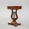 A mid 19th century karl-johan sewing table.
