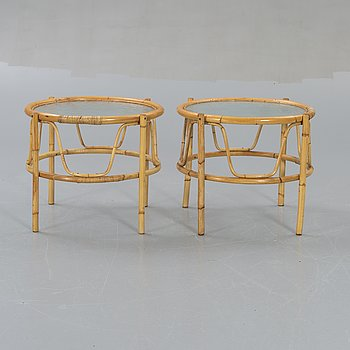 Side table, 2 pcs, 1950/60s.