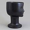 Lisa larson, two stoneware vase from gustavsberg.