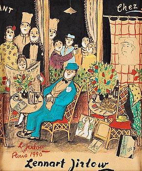 746. Lennart Jirlow, At the restaurant - Paris.