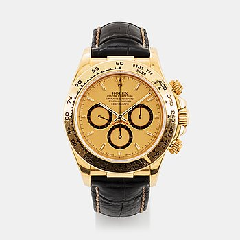 "14. Rolex, Daytona, chronograph, ""Zenith""."