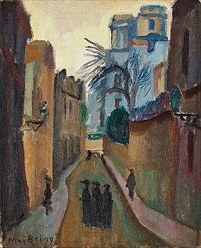 "504. Maj Bring, ""Gata i Paris"" (Street in Paris)."