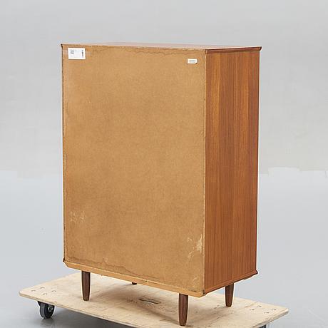 A 1960s danish teak bureau from ejsing.