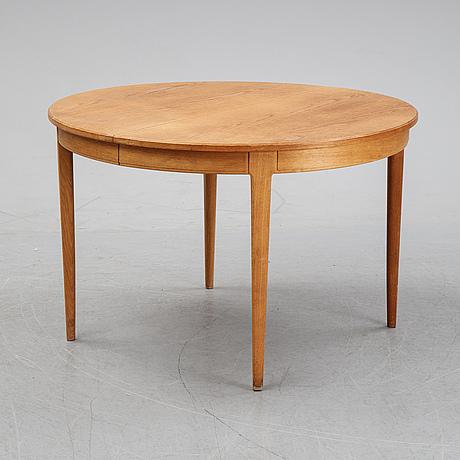 A 'herrgården' oak dining table by carl malmsten.