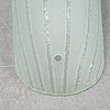 Glass shades for wall sconces, mid 20th century.