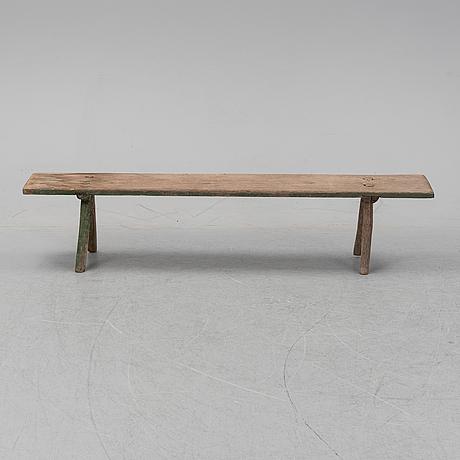 A 19th century bench.