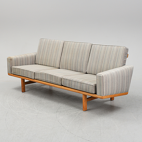 "An oak sofa, model no ""ge-236"" by hans j wegner, second half of 20th century."