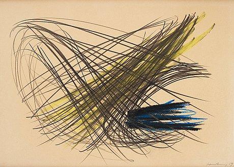 """Hans hartung, """"p1959-99""""."""