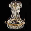A mid 19th century 19th century chandelier.