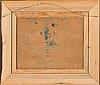 Karl ingelius, olja på pannå, signerad och daterad -19.