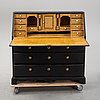 A painted secretaire, first half of the 19th century.