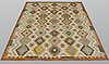 A carpet, kilim, ca 247 x 180 cm.