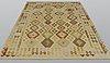 A carpet, kilim, ca 291 x 201 cm.