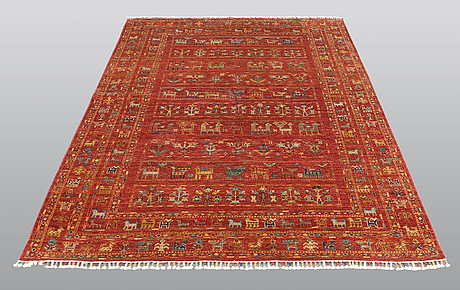 A rug, oriental, ca 239 x 168 cm.