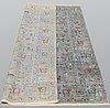 A carpet, oriental, ca 244 x 170 cm.