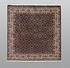 A rug, bidjar so called takab, ca 200 x 200 cm.