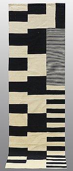 A runner, flat weave, ca 295 x 80 cm.