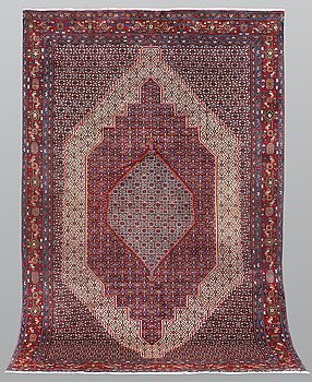 A carpet, Senneh, ca 298 x 201 cm.