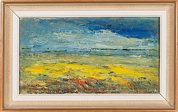 Aimo Kanerva, oil on canvas, signed and dated-40.