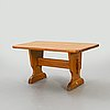 Bock table, pine, second half of the 20th century.