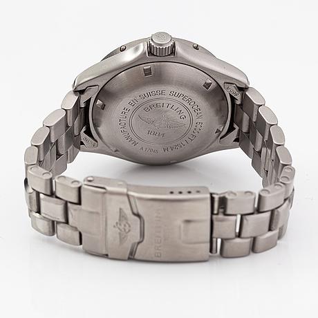 Breitling, superocean, wristwatch, 41 mm.