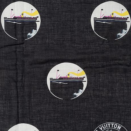 Louis vuitton, a cotton scarf.