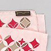 Louis vuitton, two silk scarves,