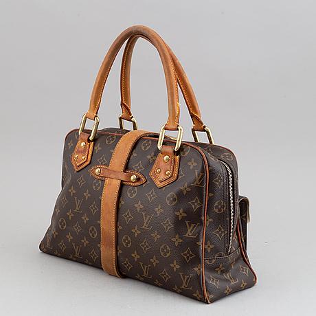 Louis vuitton, a monogram canvas handbag.