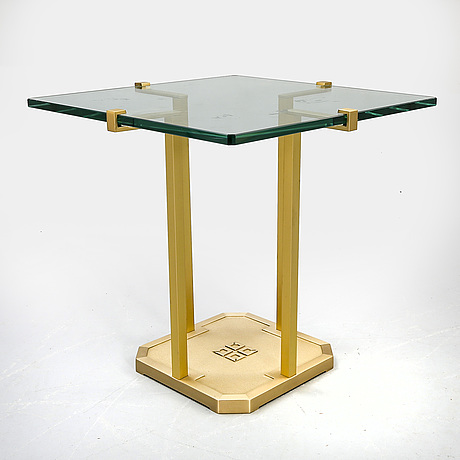 Peter ghyczy side table later part of the 20th century.