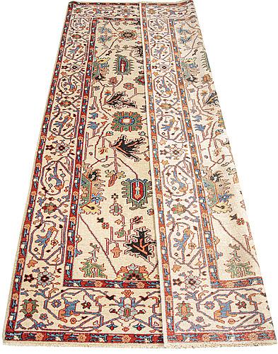 Matta, old orientalisk, ca 251 155 cm.