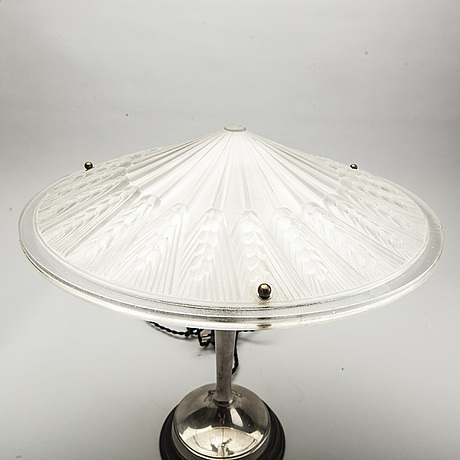 Bordslampa, art deco, 1930-tal.