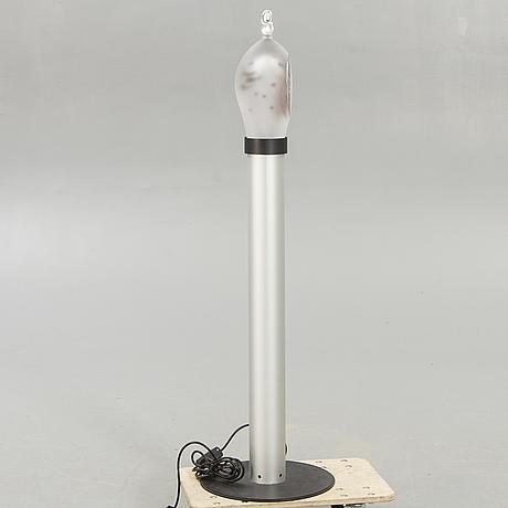 Hanne dreutler, a signed graal sculpture on pedestal from studio åhus, sweden, 1998.