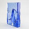 Bertil vallien, a glass sculpture from kosta boda.