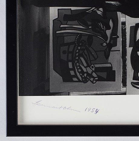 Lennart olson, portrait of fernand léger, 1954.