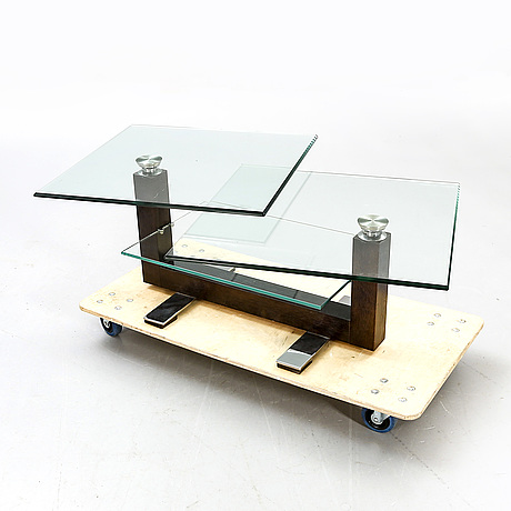 A modern coffee table.