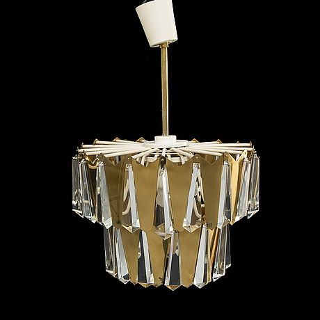 Ceiling lamp, italy, 1960s-70s.