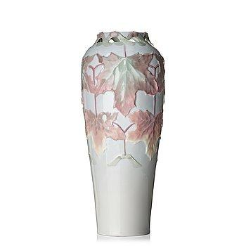 65. Harald Almström, an Art Nouveau porcelain vase, Rörstrand 1900.