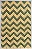 A carpet, flat weave, ca 272 x 172 cm.