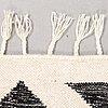 A carpet, flat weave, ca 270 x 170 cm.