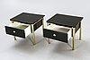 Sängbord, ett par, 1960-70-tal.