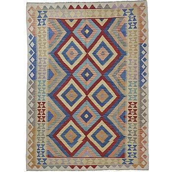 A rug, kilim, ca 226 x 171 cm.