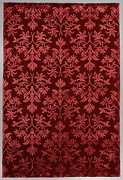 A carpet, India, wool  and  bambo  silk, ca 300 x 200 cm.
