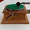 Trattgrammofon, tidigt 1900-tal.