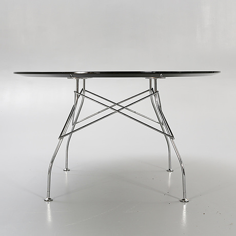 """Antonio citterio & oliver löw, table """"glossy"""" for kartell, late 20th century."""