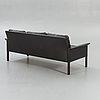 A 1960/70s leather sofa.