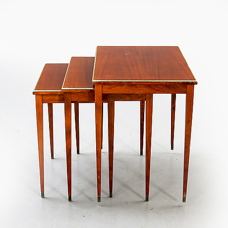 Kit table, 1950s-60s, 3 parts.