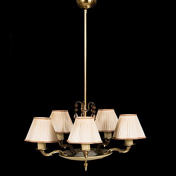 Paavo Tynell, A 1930's '1374' ceiling lamp, for Taito.